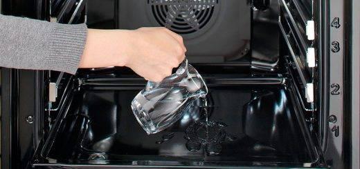 Очистка духовки какая бывает
